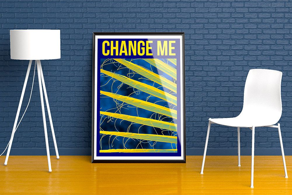 Awesome Wall Poster Mockup Free PSD Download Wall Poster Mockup - Invoice maker free download rocco online store