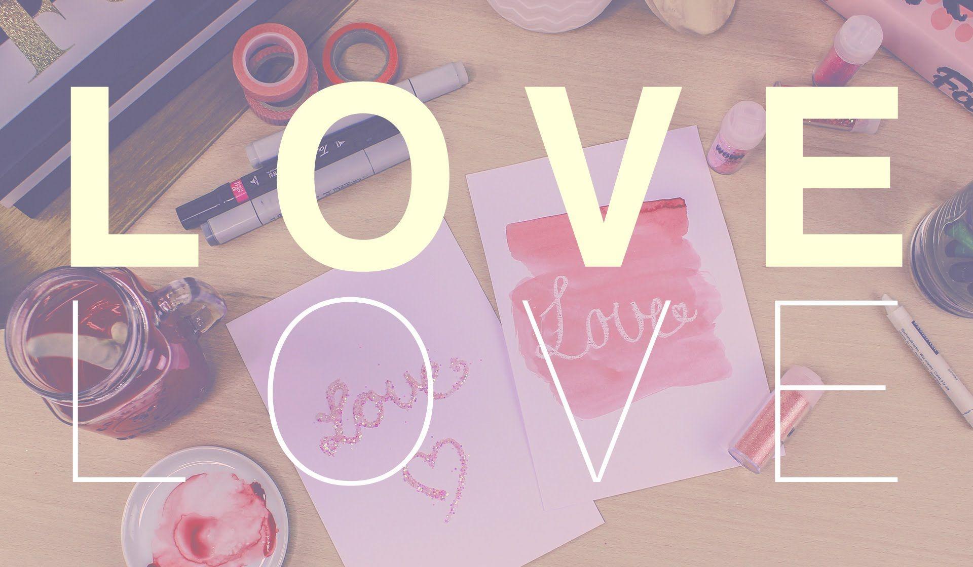 Dites le avec du LOVE #diy