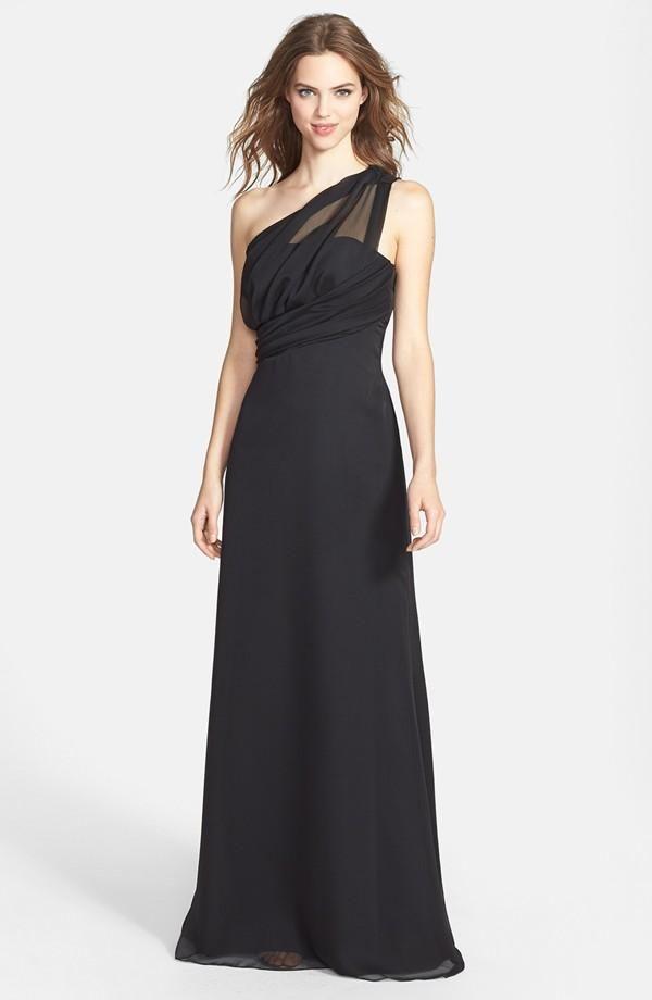 Elegant maxi dresses for black tie affair