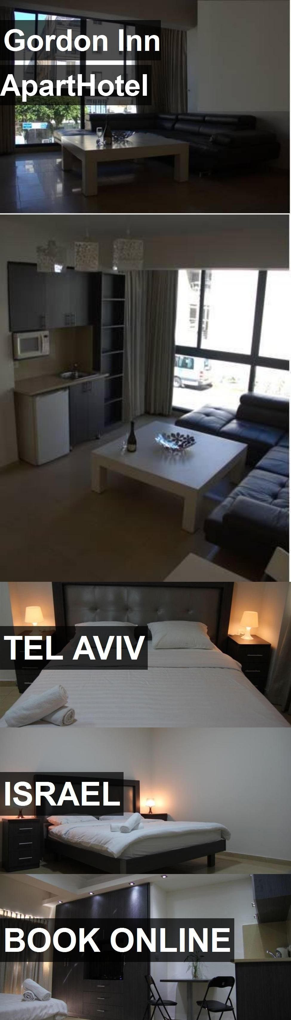 Hotel Gordon Inn ApartHotel in Tel Aviv, Israel. For more information, photos, reviews and best prices please follow the link. #Israel #TelAviv #GordonInnApartHotel #hotel #travel #vacation