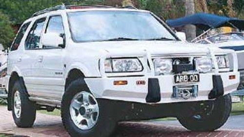 Arb Windenstossstange Opel Frontera B 3448200 Schwarz Ohne Tuv