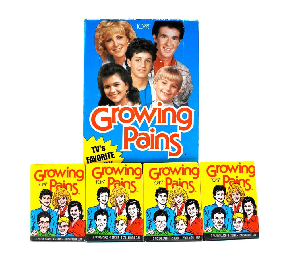 4 Growing Pains Sticker Trading Card Packs By Topps Etsy In 2021 Pack Of Cards Cards Trading Cards