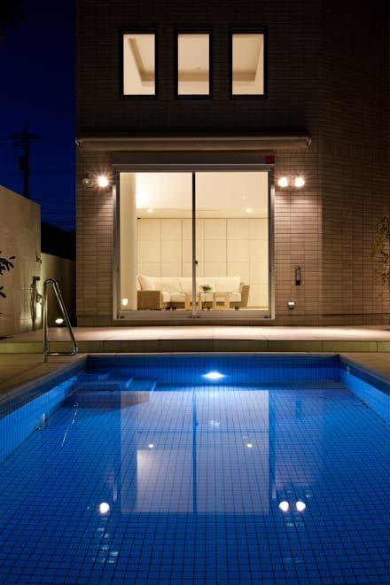 プールのデザインアイデア インスピレーション 写真 プールのある