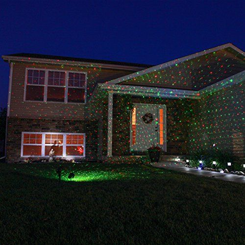 Bliss twinkling Firefly Fairy Outdoor Laser Light Show Duel Colors