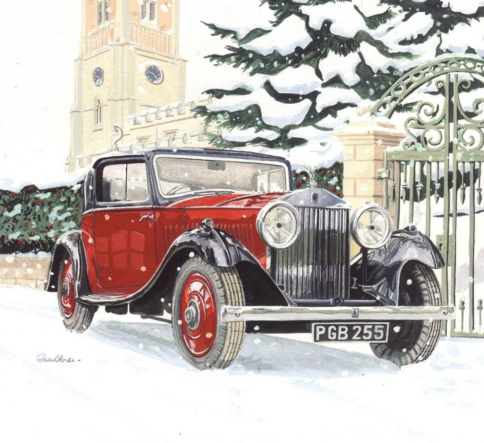 Rolls-Royce 20/25 Coupé De Drophead 1934