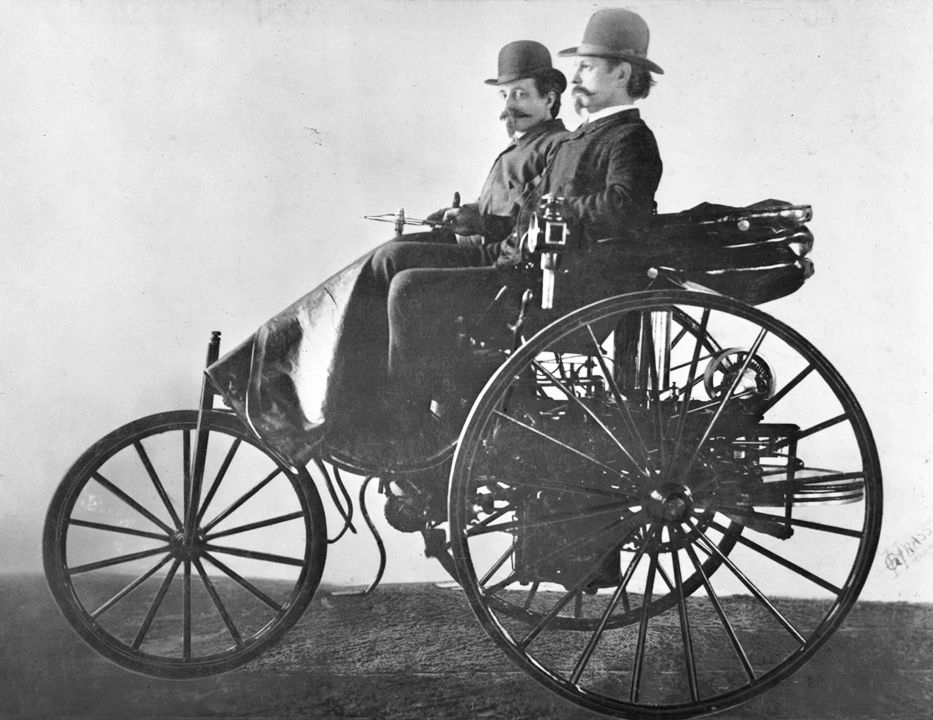 January 29 1886 The First Successful Petrol Driven Motorcar