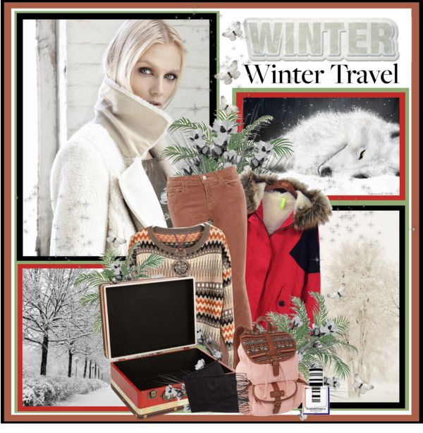 """""""Winter Travel"""" by sneky ❤ liked on Polyvore"""