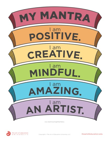 New Mindfulness In The Elementary Art Room The Art Of Education University Elementary Art Classroom Elementary Art Rooms Art Room
