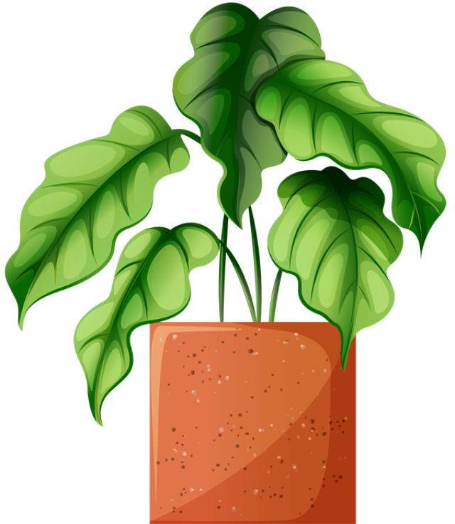 Clip Art Of Beautiful Plants For The Spring Garden Plant 2