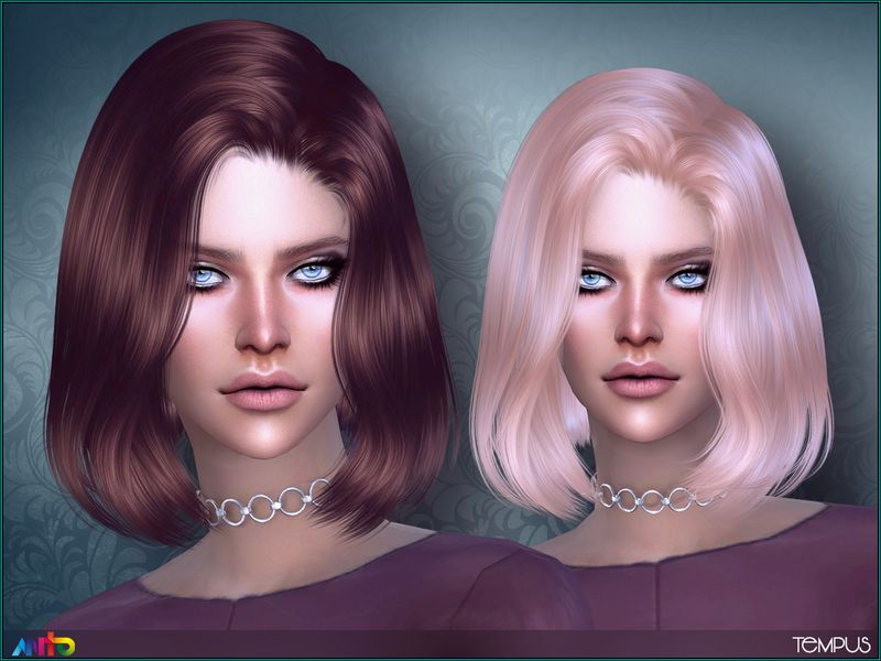 Wavy bob hair for your ladies Found in TSR Category 'Sims 4 Female