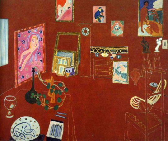 Henri Matisse, L'Atelier Rouge, 1911