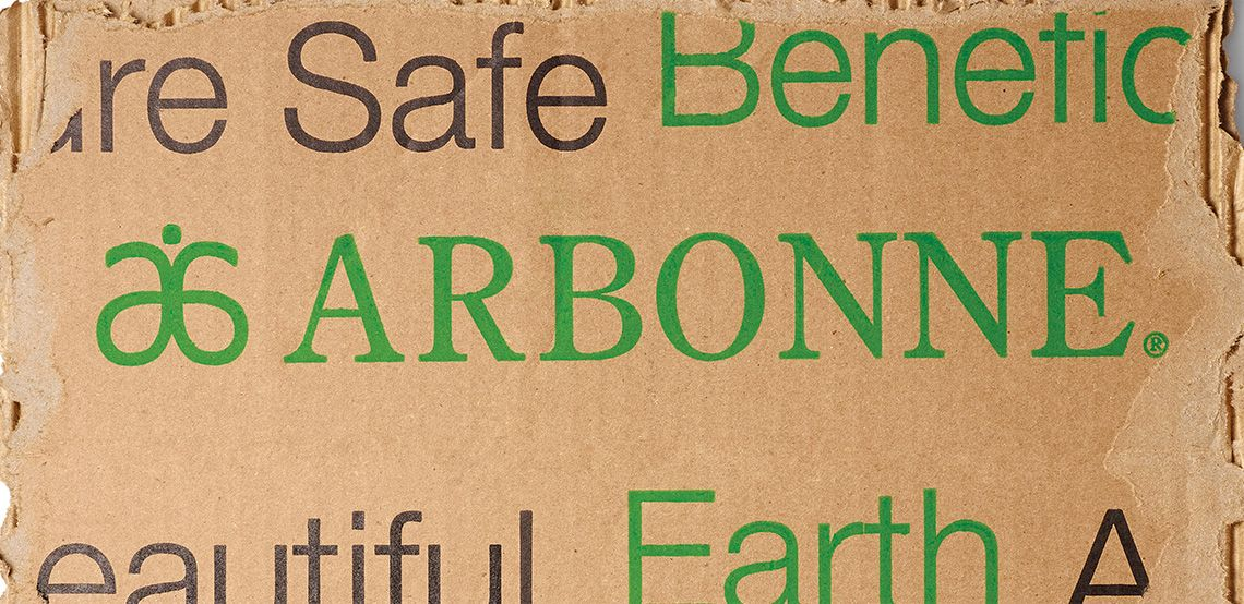 Arbonne shipping wrapper recyclable packaging Arbonne