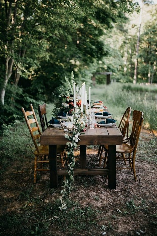 25 Whimsical Woodsy Forest Wedding Reception Ideas for 2019 Trends – Page 2 of 2