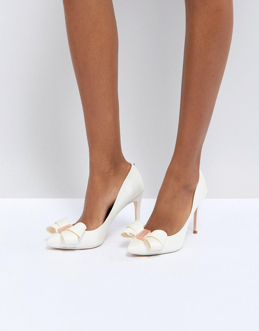 ab09598a7d274f ... sandals from ASOS. TED BAKER TIE THE KNOT SKALETT HEELED SHOES - WHITE.   tedbaker  shoes