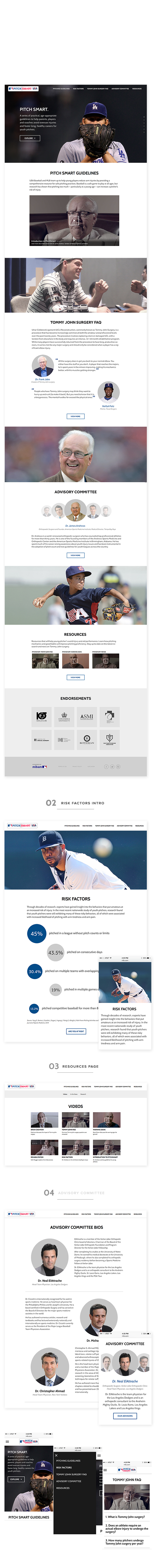 MLB Pitch Smart on Behance