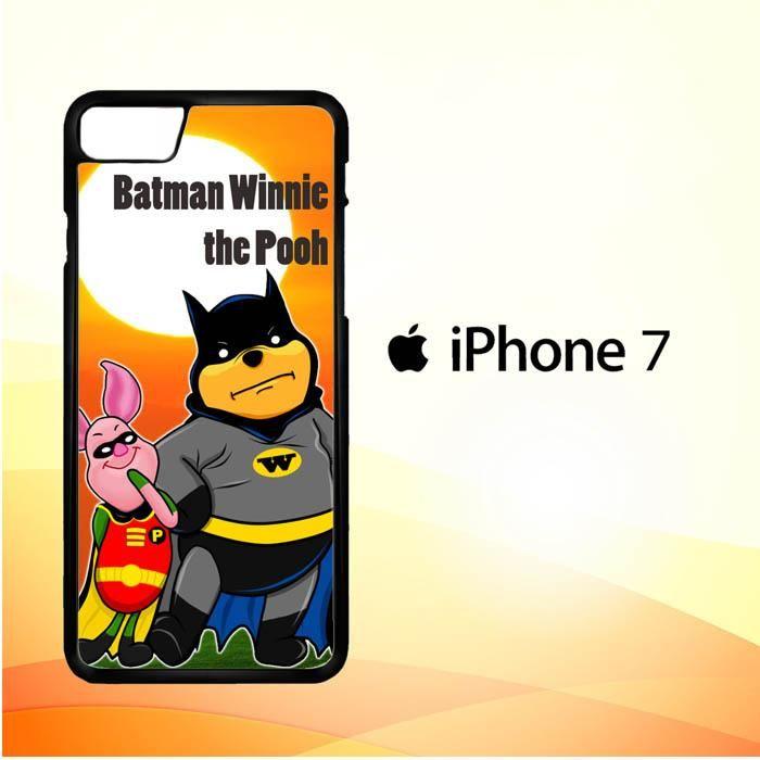 Winnie the Pooh Batman and Piglet robin D0074 iPhone 7 Case