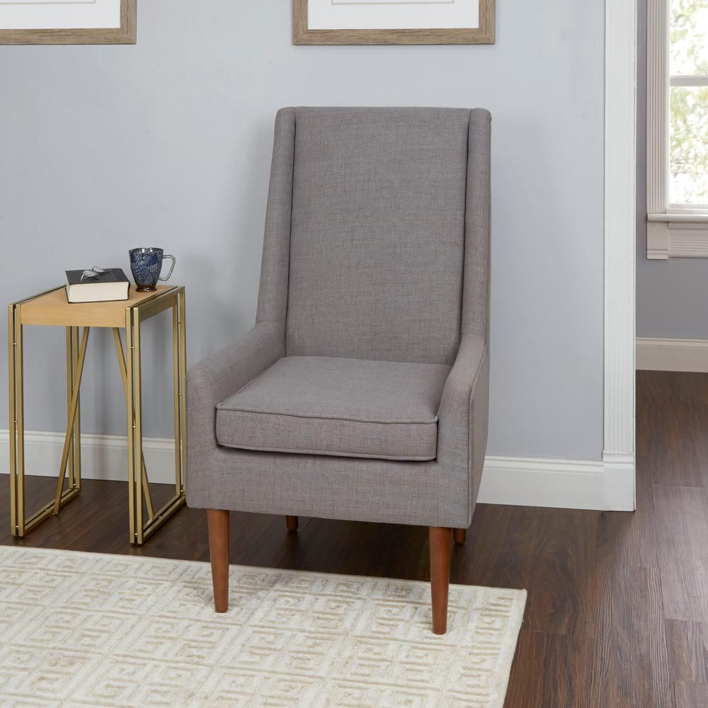 Silverwood Furniture Reimagined Nelson Light Grey High Back Mid