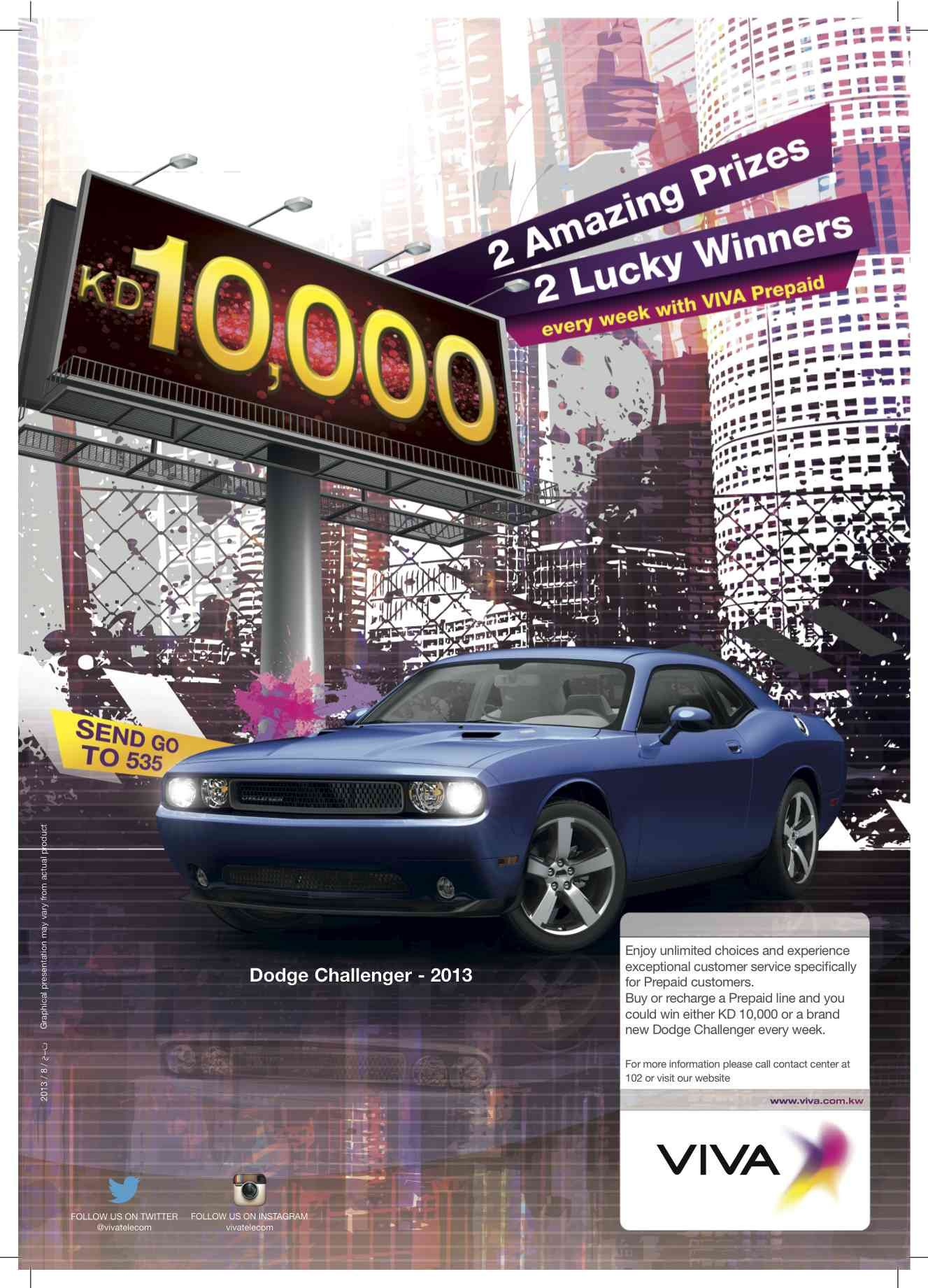 Viva Announced Today The Final 2012 Winners Of The Win A Car