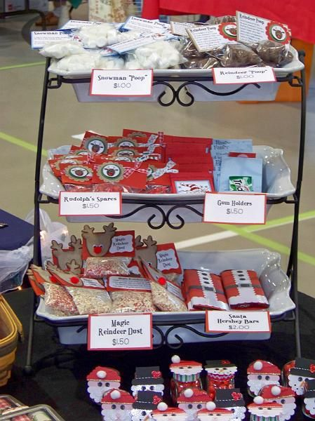 Craft Fair Table Candy Display Idea Crafts To Be Gifts