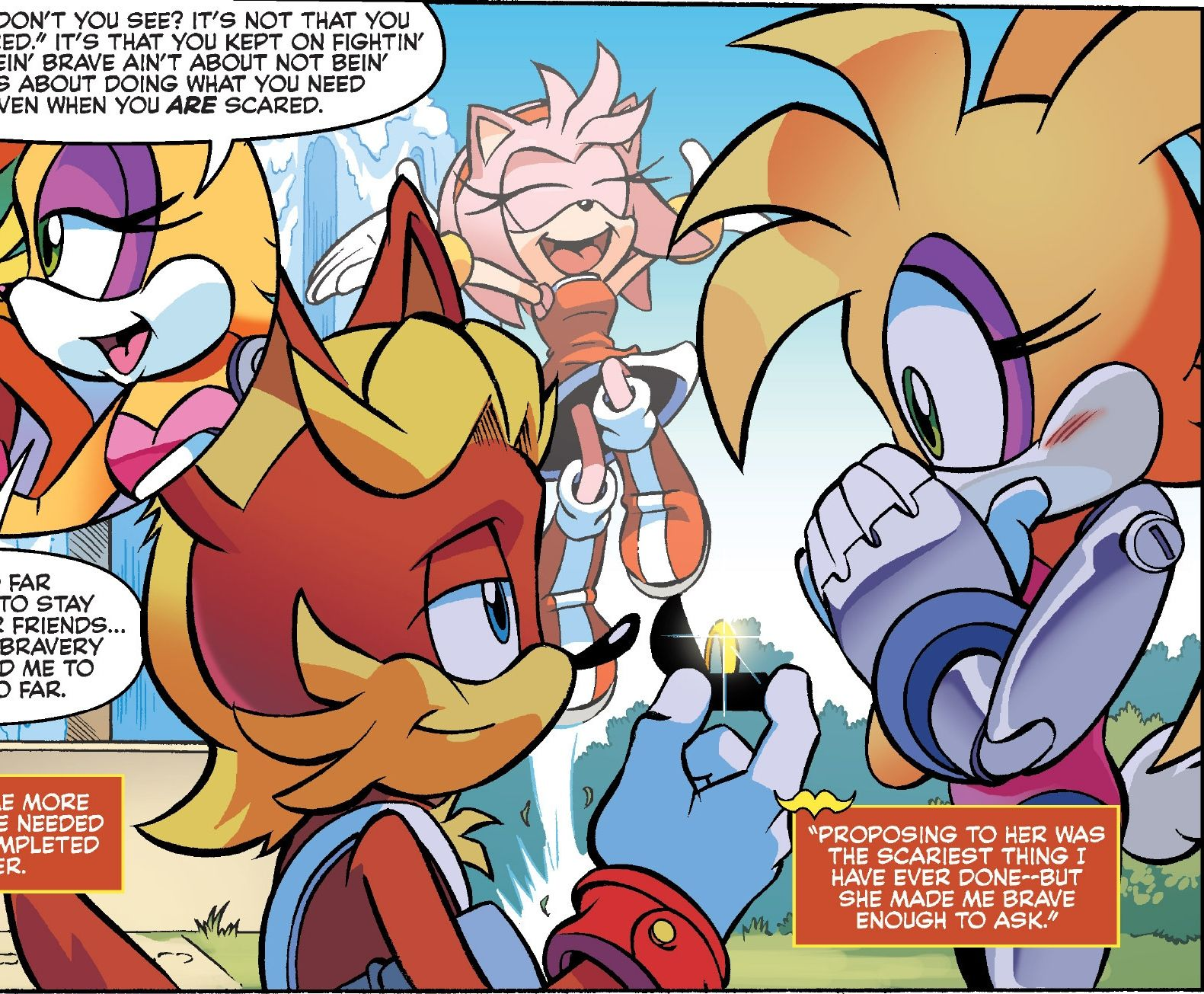 Sally acorn sonic news work pictures to pin on pinterest - Video Games