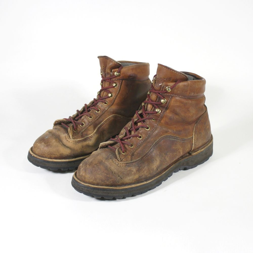 Danner Explorer Hiking Boots Mens Size 9D Brown Leather Vibram ...
