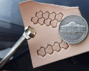 How to use my stamps on leather - just wet leather (best thicker ...