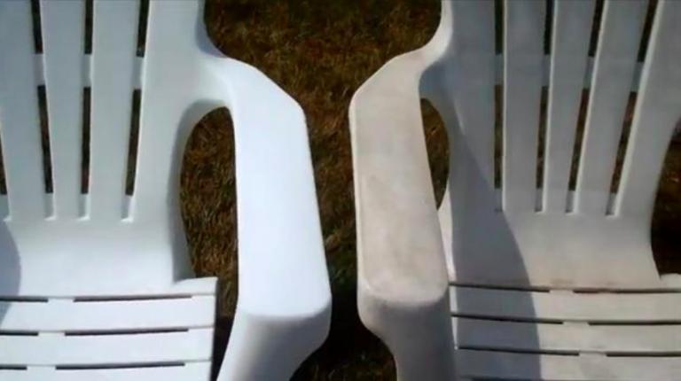 Comment retrouver du mobilier en plastique comme neuf | A voir ...