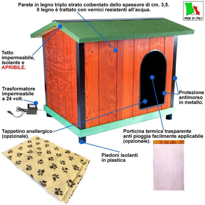 Cuccia termica per cani dekastenopmaat for Cucce per cani da esterno coibentate