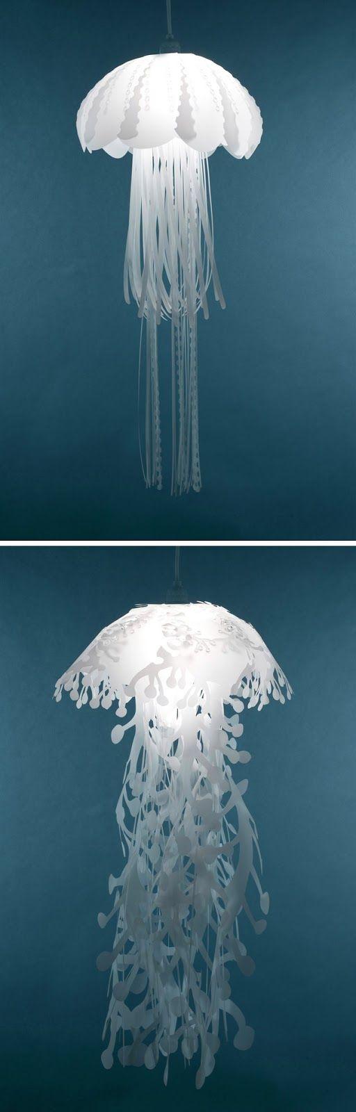 Unusual pendant lamps inspired by medusas digsdigs - Roc21 Lamparas Medusas