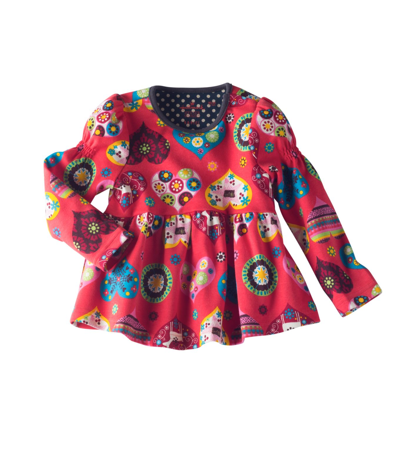 Dress your little darling in this sweet aline top with
