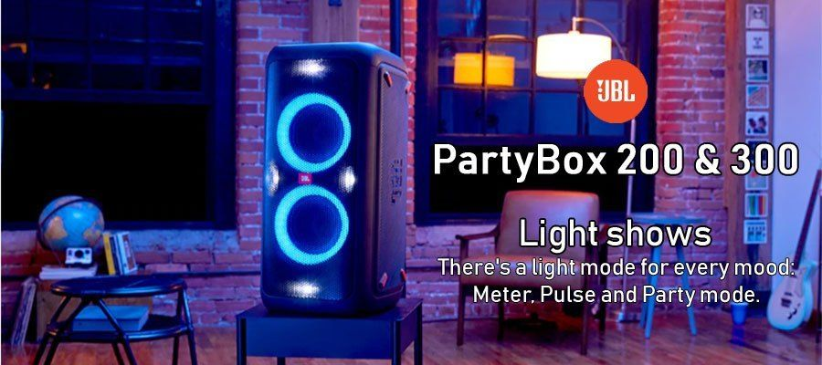 Jbl Partybox 200 300 Home Theater Setup Party Speakers Jbl