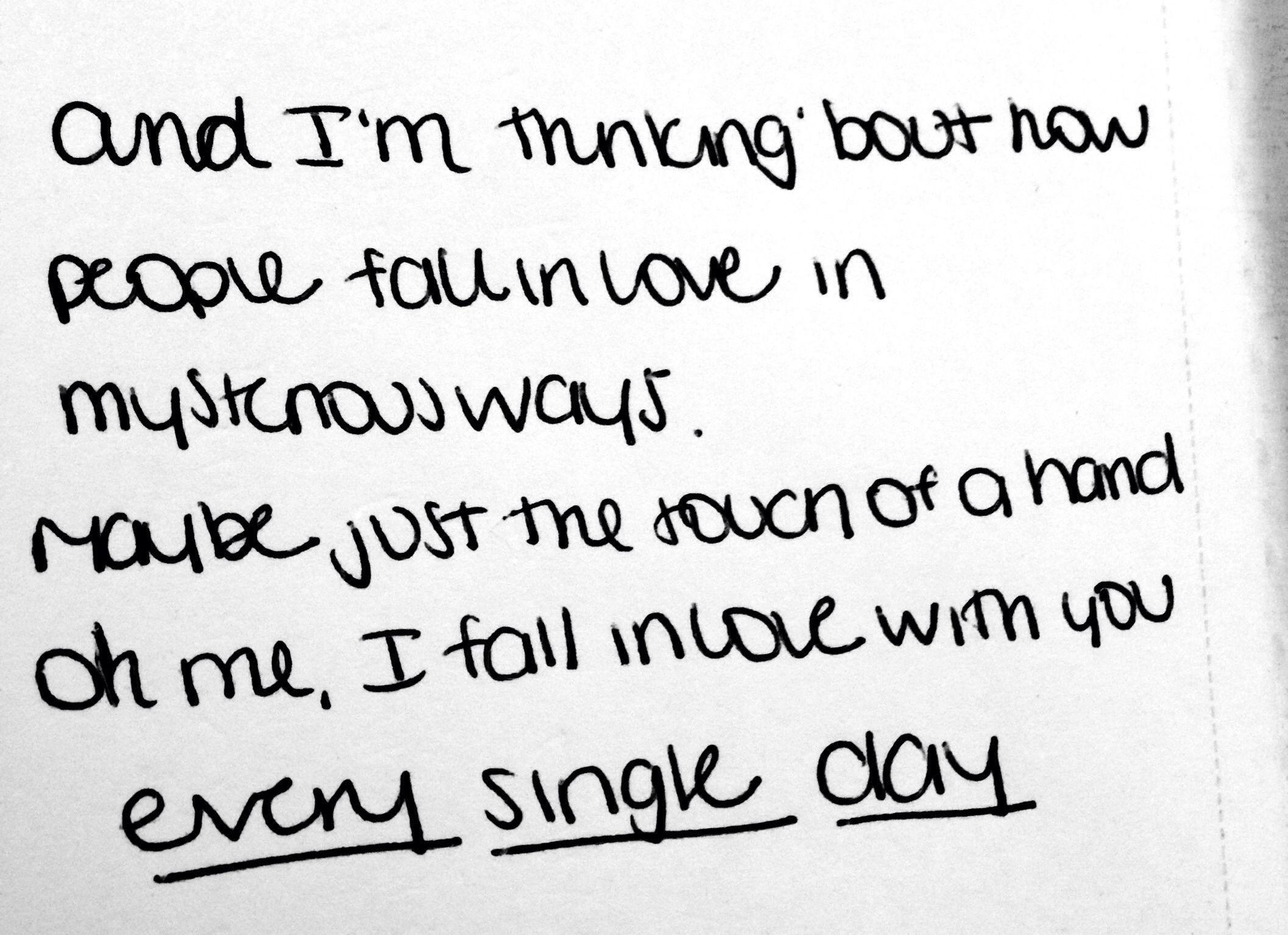 Thinking Out Loud Ed Sheeran Aka My Wedding Song Lyrics To Live By Song Lyric Quotes Cool Lyrics