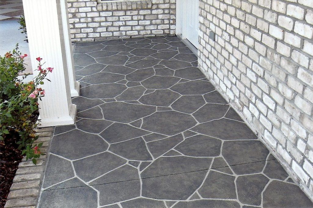 Charming Magnificent Ideas Patio Floor Paint Concrete Porch With Grey