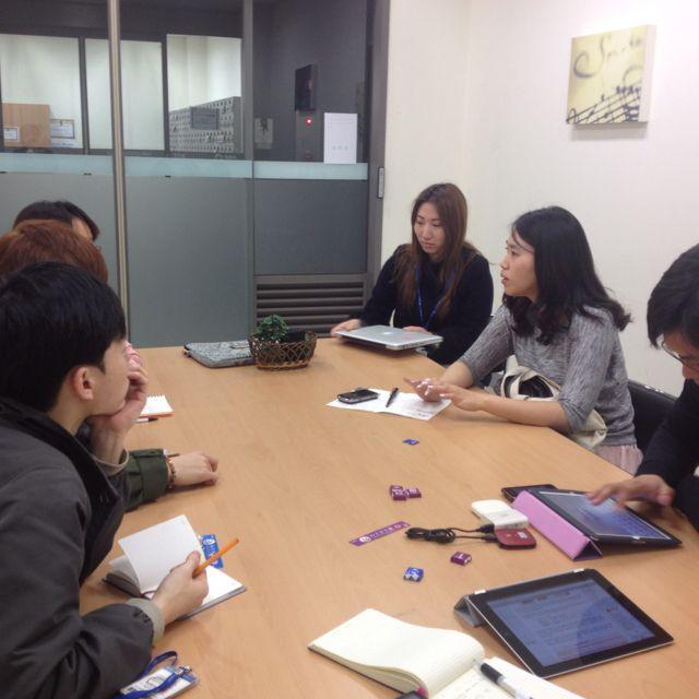 지식서비스를 제공하는 청년사업가들과의 모임~^^