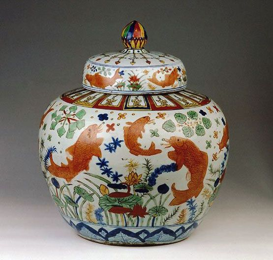 Chinese Pottery from Ming Dynasty
