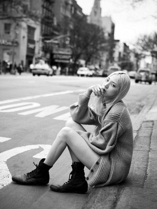 Soo Joo Park - Street Style Photographed by David Urbanke