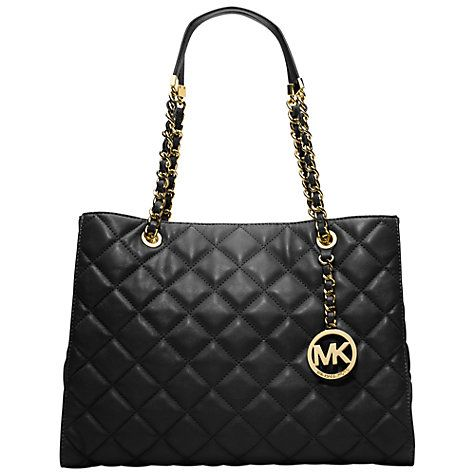 9de6310aa2be Michael kors Susannah Large quilt tote handbag | Simple Street Style ...