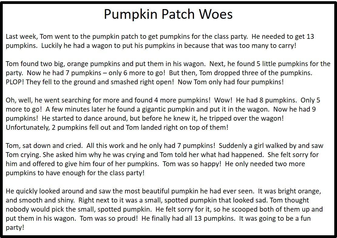 Pumpkin Patch Woes 785