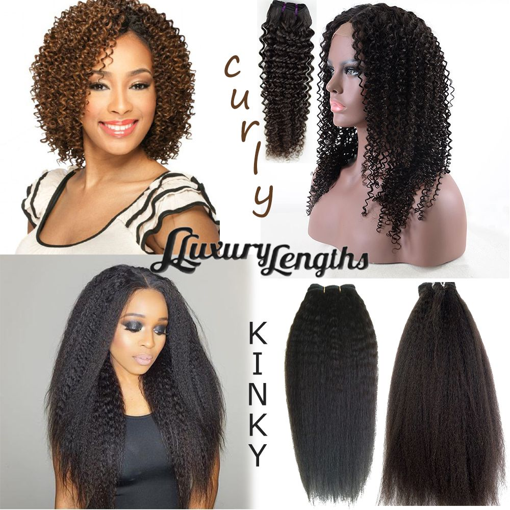 Luxury Lengths hair combination,Brazilian hair. Length 20