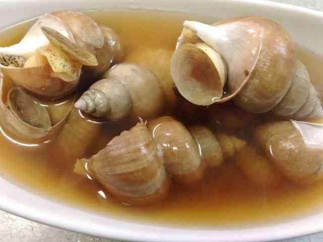 煮付け つぶ 貝