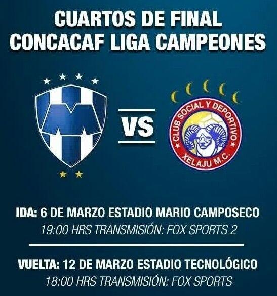 Concacaf Champions league 2012-2013 cuartos de final Monterrey vs ...