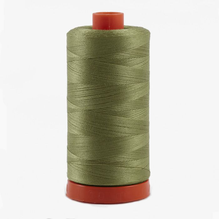 Aurifil Quilting Thread 50wt Light Laurel Green Fabric