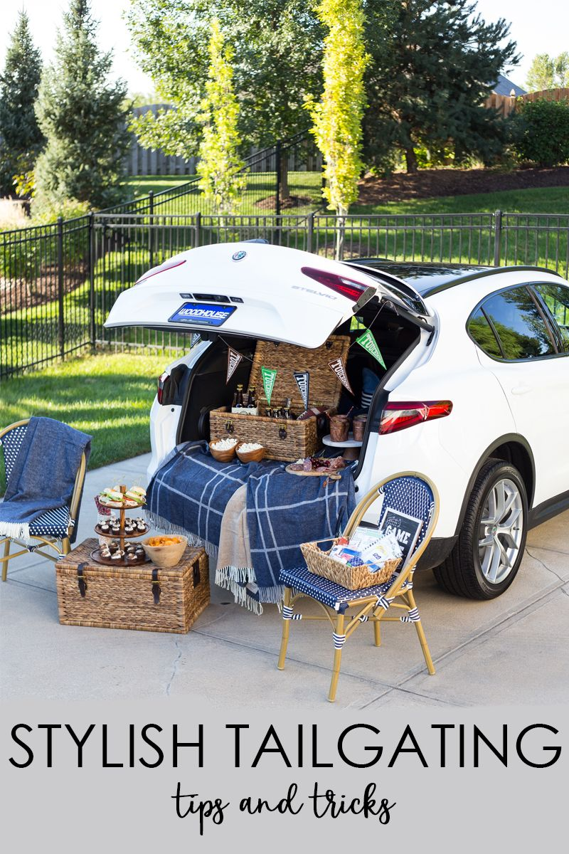 Stylish Tailgating Ideas and Tips | Tailgating, Outdoor