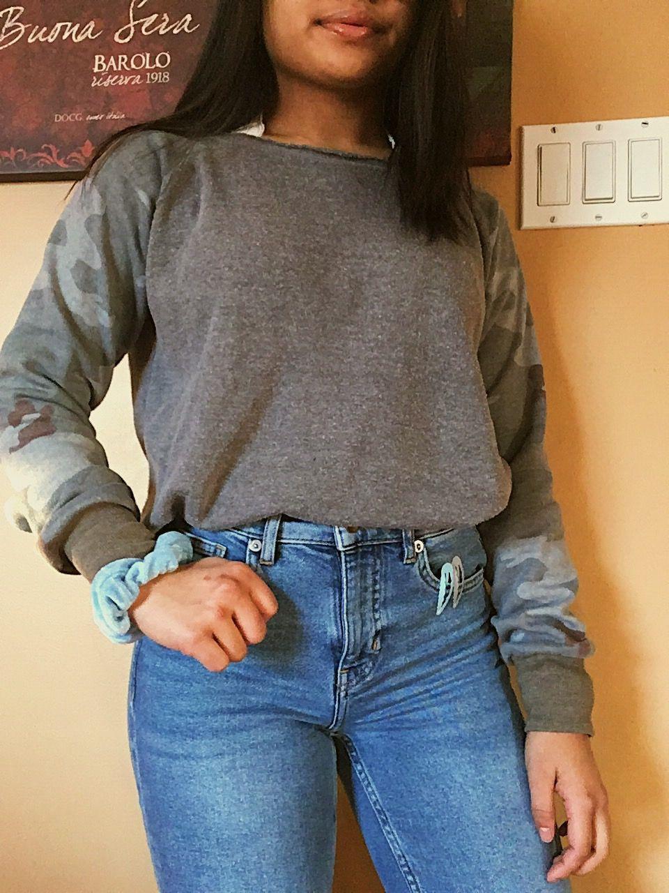 último descuento bienes de conveniencia descuento mejor valorado sweater- zara straight jeans- h&m white bralette- hollister ...