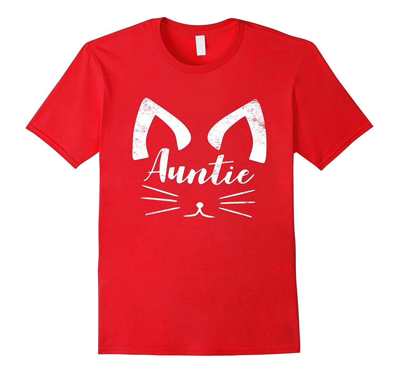 Cat Face Aunt Shirt - Aunt Shirt #auntshirts