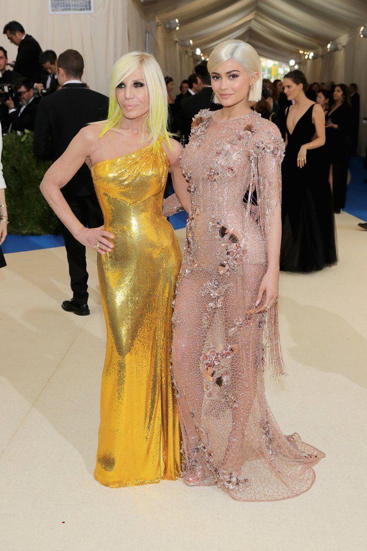 Kylie Jenner Looks Like Donatella Versace S Mini Me At The Met