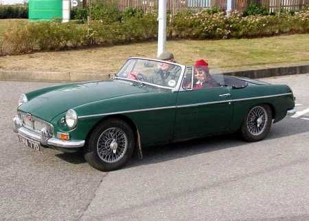 The MGB...Though I'm not a car person, this was a car I remember ...
