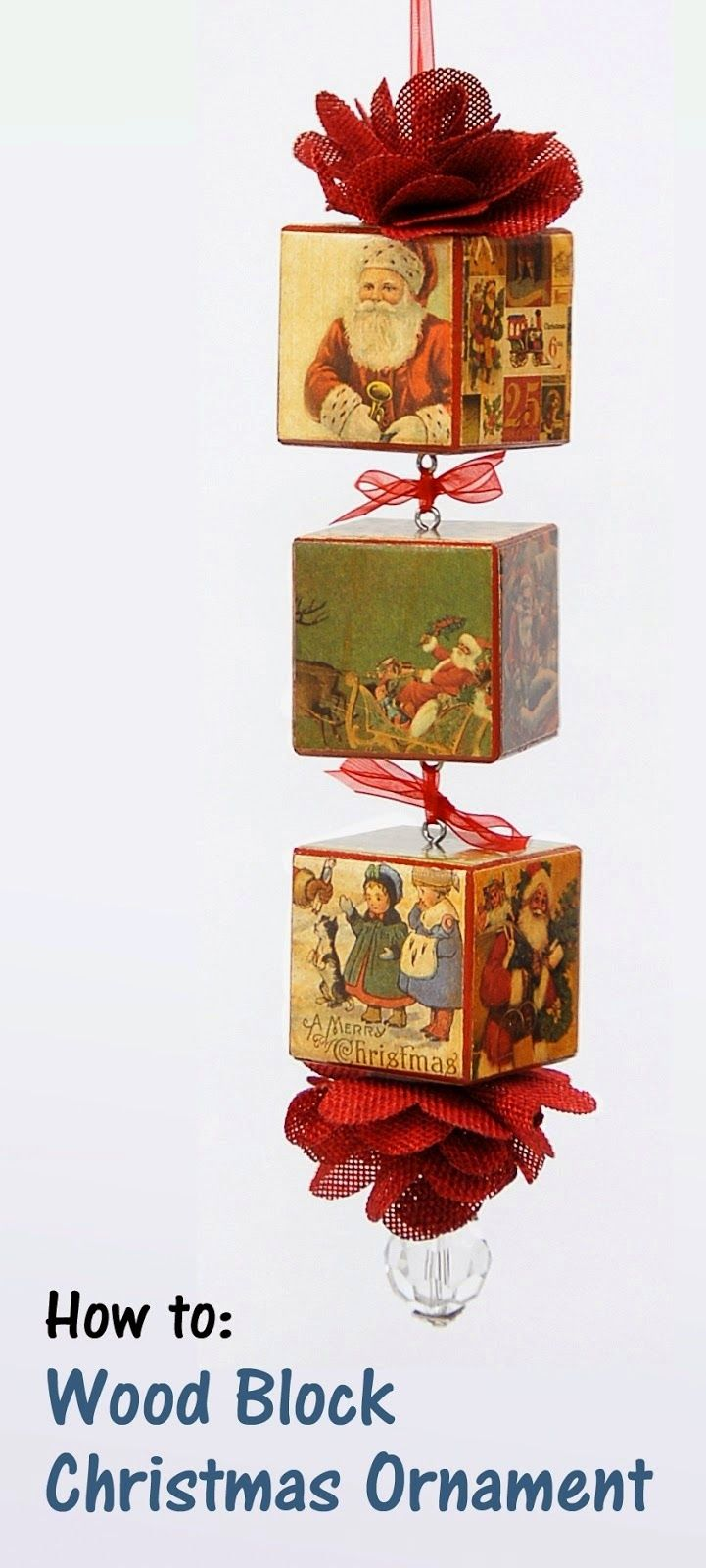 All Things Blog Christmas Crafts Wood Blocks Christmas Christmas Ornaments Christmas Crafts