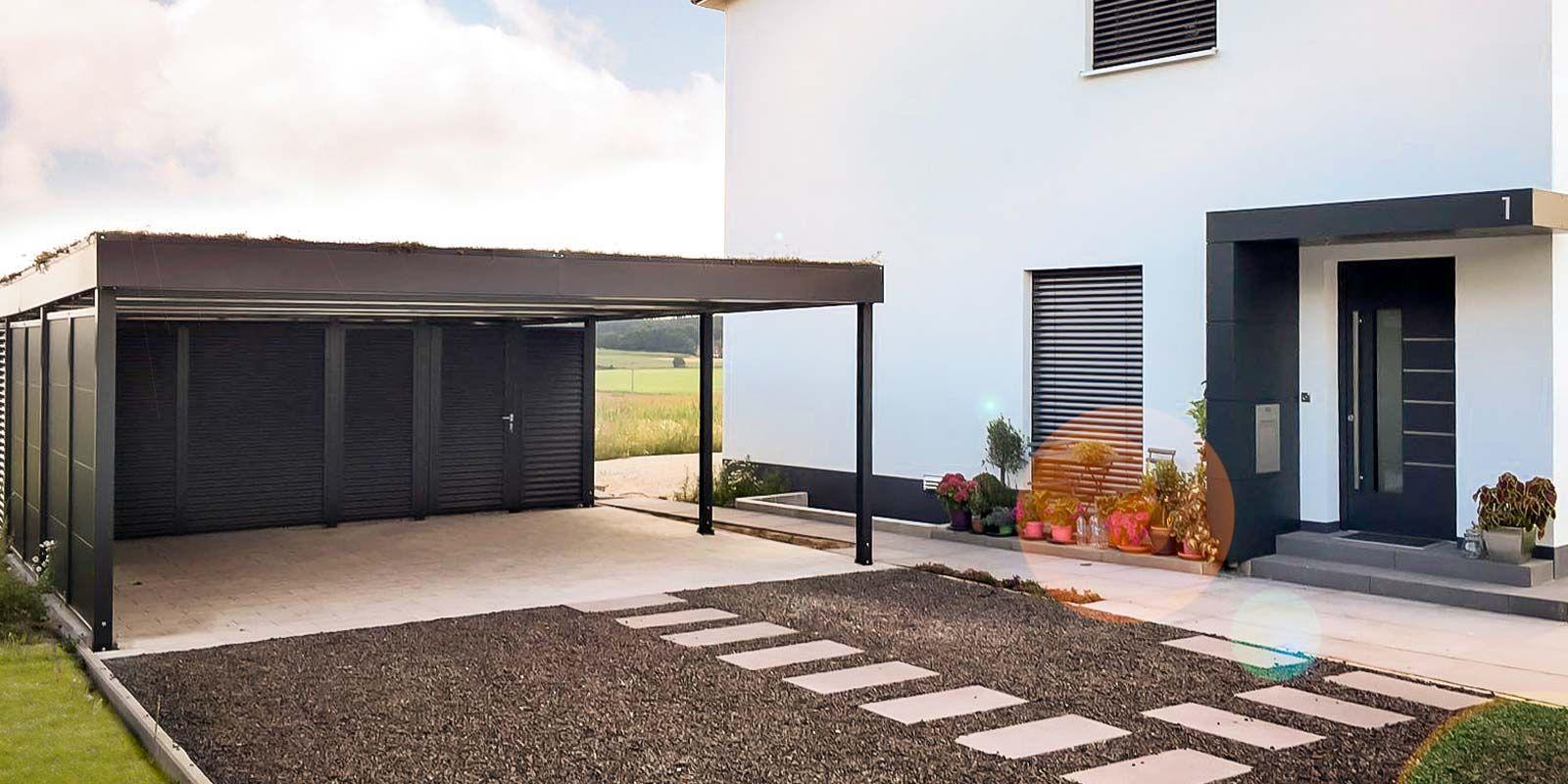 Doppelcarport Von Siebau Car Port In 2018 Pinterest Garage