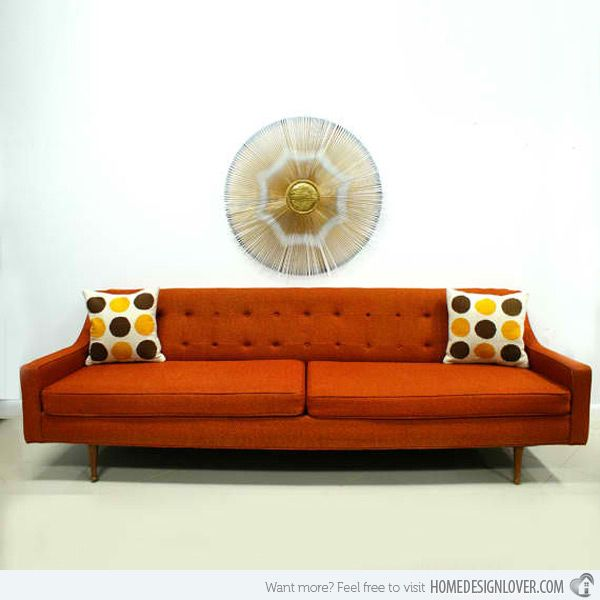 18 Pretty Vintage Sofa And Settee Designs